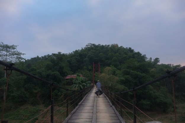 Heading back into the jungle, northern Vietnam