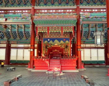 Shrine in Gyeongbokgung Palace, Seoul