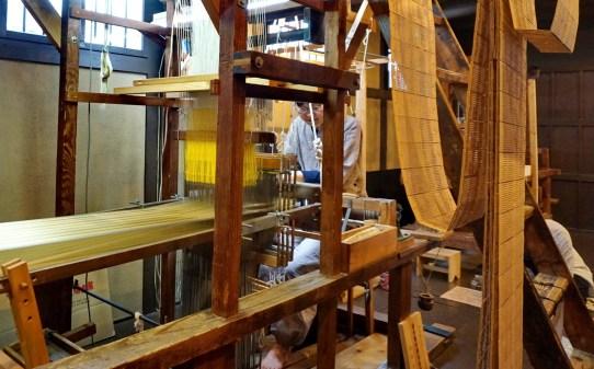 Traditional weaving house in Fukuoka