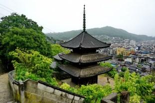 Pagoda in Senkoji Park, above Onomichi