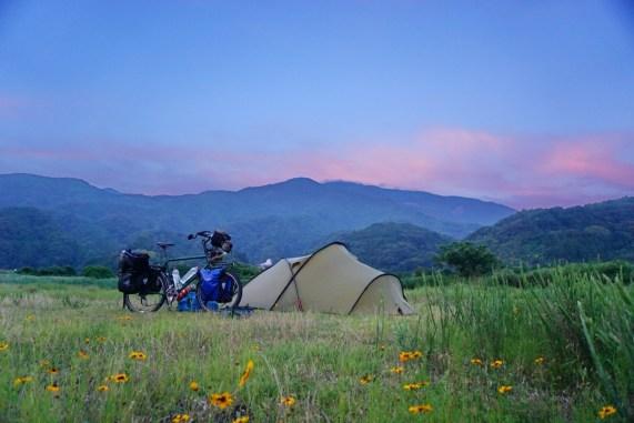 Wild camp near Minobu