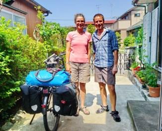With Joan in Kanagawa