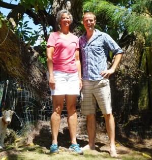 With Tamara in Kailua