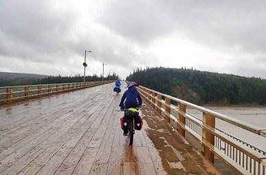 Crossing the Yukon River. Photo: A.Hughes