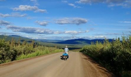Pushing hard to reach Fairbanks. Photo: A.Hughes
