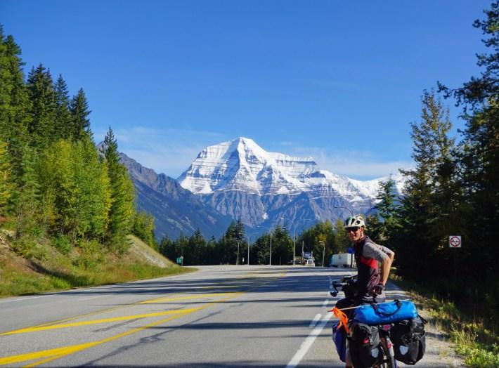 Mt Robson, between Tete Jaune Cache and Jasper, Yellowhead Highway