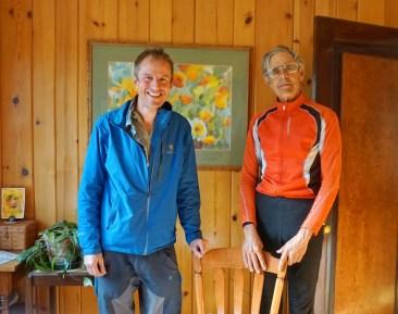With John, the Botanical Ambassador of Missoula