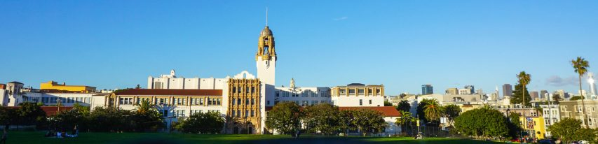 Mission Dolores High School and Park, San Francisco