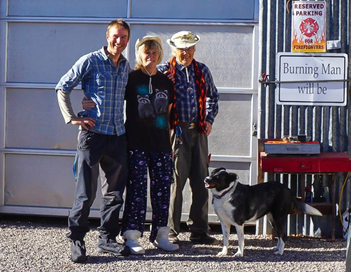 With the awesome Carol & Vince (and one of their bitey dogs) in Modena, Utah