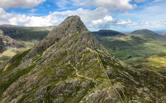 One of my favourite hills in the world: Tryfan, Snowdonia, North Wales. I hit it up twice during my visit to UK. Photo: N.Corbett