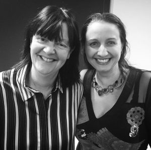 Orna Ross and Joanna Penn Self-Publishing Salon