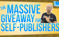 the massive giveaway for self publishers