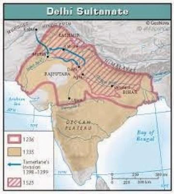 foundation of delhi sultanate