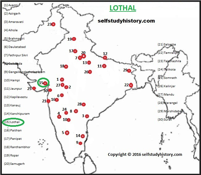 INDIAN HISTORY THROUGH MAP- PART-L