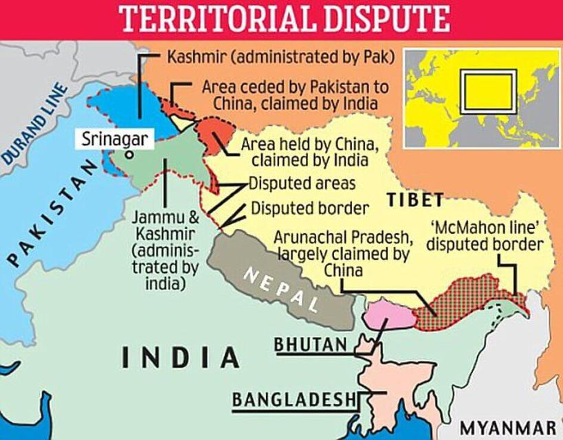 Border-Dispute-between-India-China