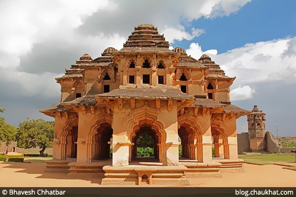 Lotus Mahal [Lotus Palace] at Hampi