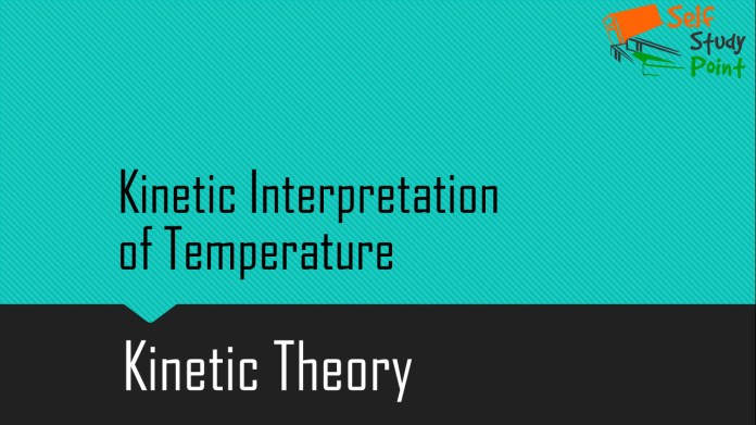 Kinetic Interpretation of Temperature