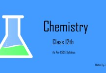chemistry 12th class cbse notes