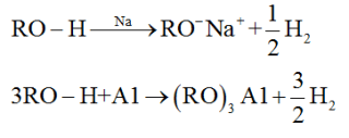 Reactions of alcohols involving cleavage of O-H bond