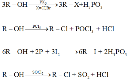 Reactions involving cleavage of C – O bond