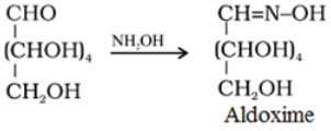 Glucose Reaction with hydroxylamine