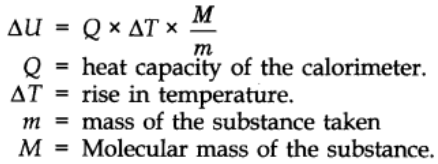 Measurement of ∆U and ∆H: Calorimetry