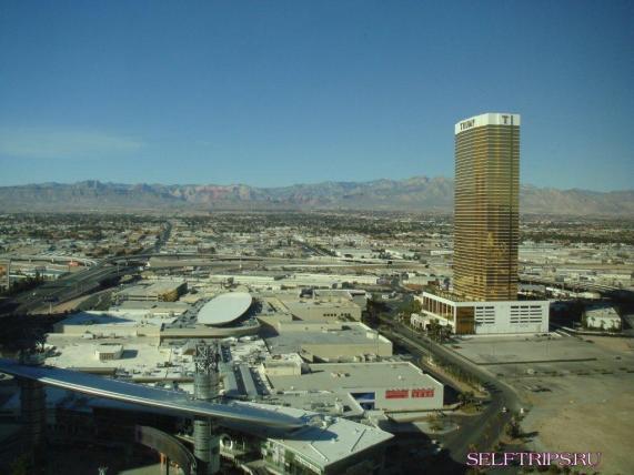 Las Vegas view from the Wynn