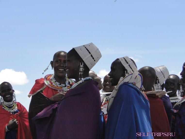 Племя масаи.