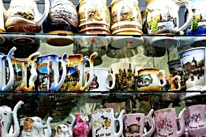 Mugs mineral water