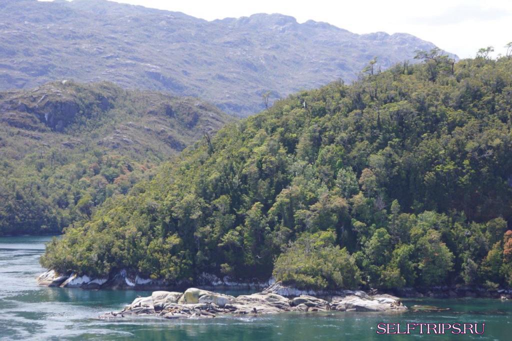 Патагония, чилийские фьорды
