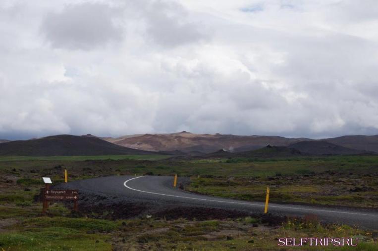 Исландия: Акюрейри, Годафосс, Миватн и Наумафьятль