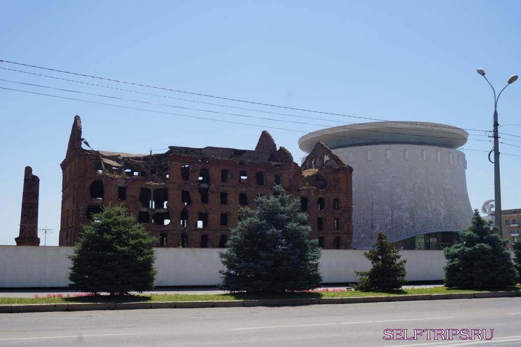 """Museum-panorama """"battle of Stalingrad"""""""