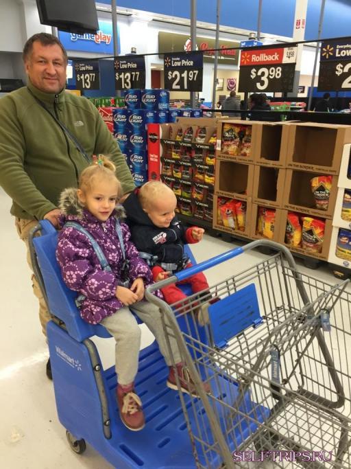 Питание годовалого ребенка в путешествии по Америке