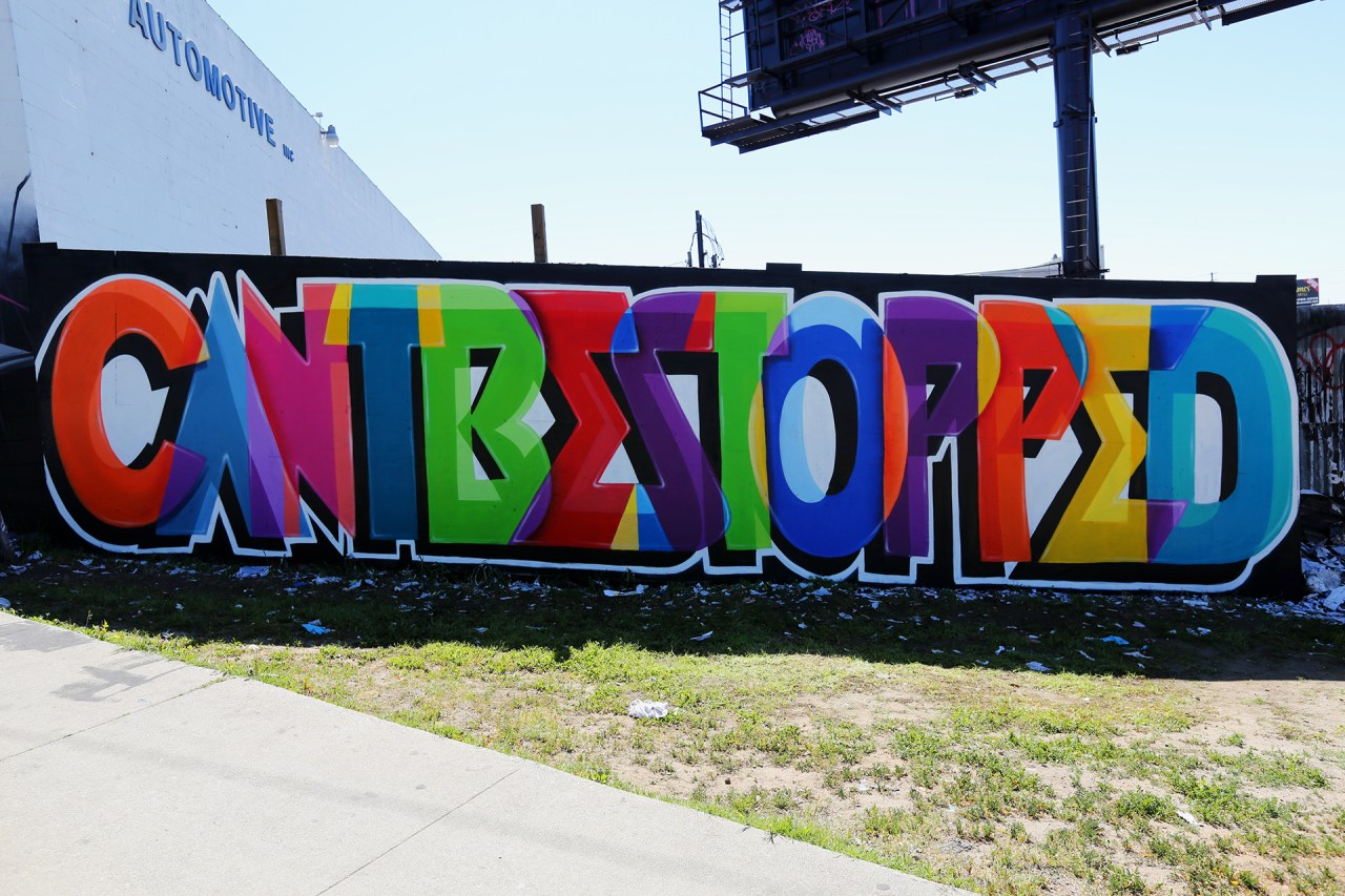 self selfuno dytch66 dcypher cbs crew cantbestopped graffiti spellout letters labrea los angeles graffiti