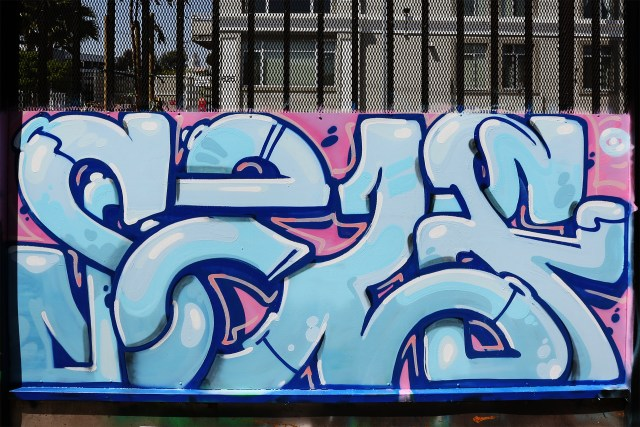 self selfuno selfie graffiti letters piece dtla los angeles container yard art april 2015