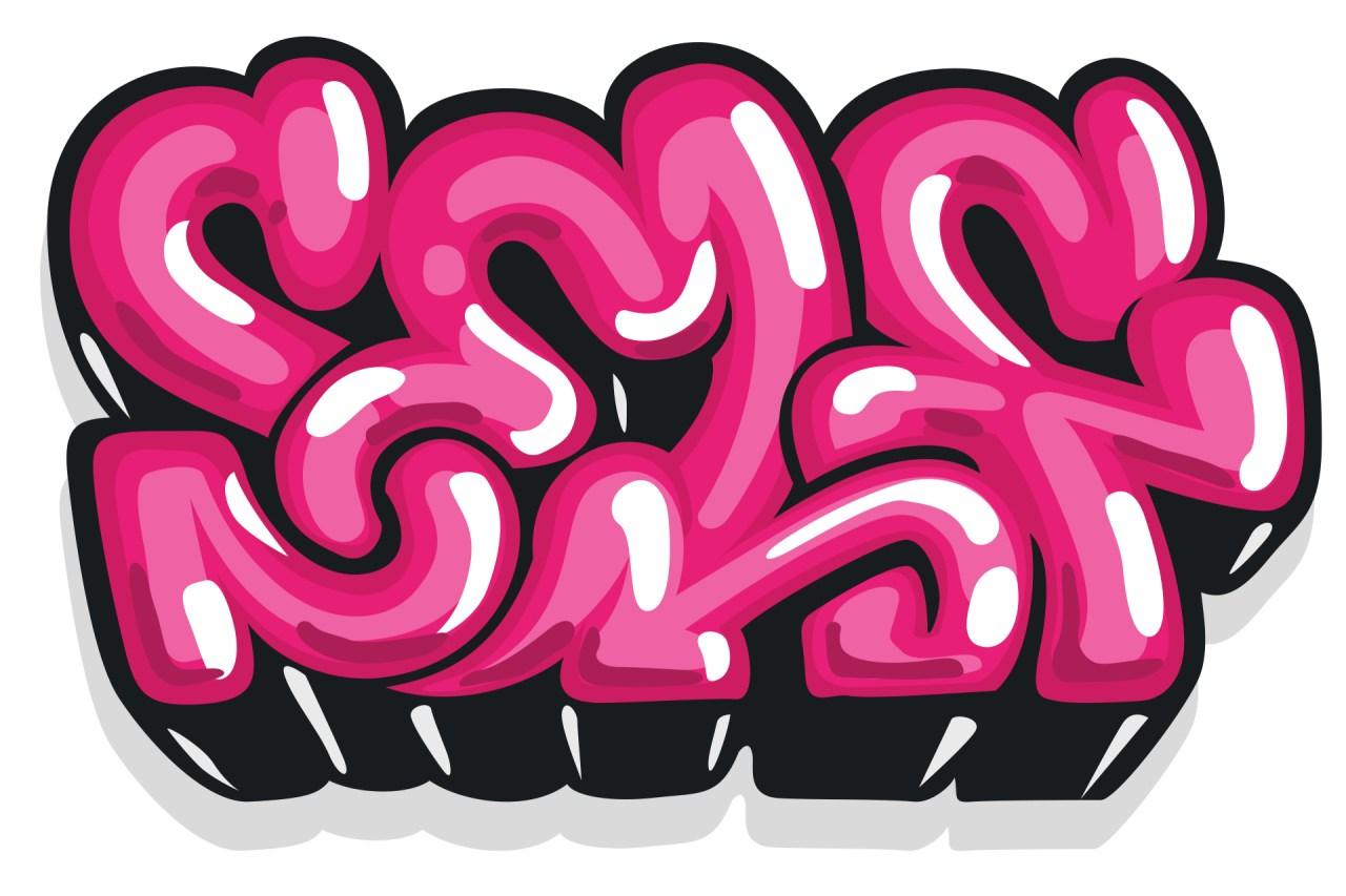 self selfuno art artist graffiti letters piece connections bubble letters hilights fresh flavor digital illustration photoshop july 2013