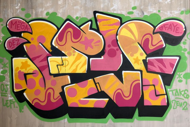 selfuno_self_graffiti_piece_burner_letters_los_angeles_funk_flavor_june_2019