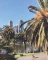 CBD view and Yarra River in Melbourne