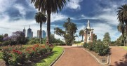 A walk in the Royal Gardens Melbourne