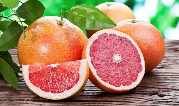 Grapefruit for diet