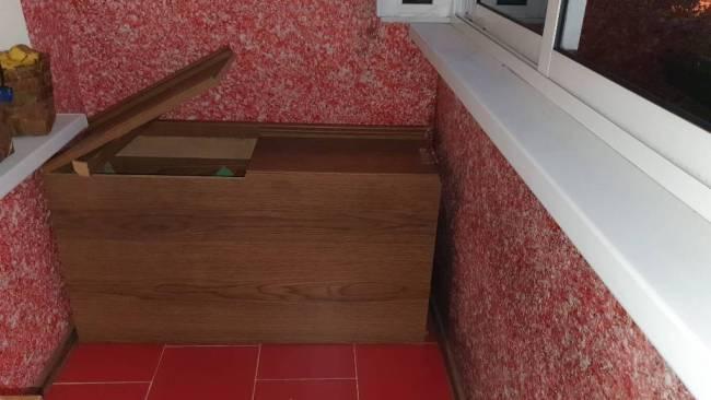 Ящик для хранения картофеля на лоджии