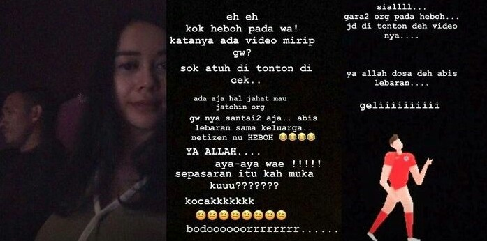video aura kasih instagram new skandal