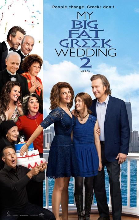 MY BIG FAT GREEK WEDDING 2 poster