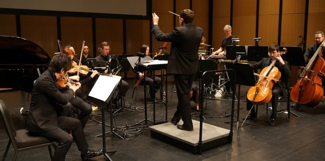 Richard McKay Conducts Dallas Chamber Symphony Feb 16 2016 THE GOAT. Photo by Jeffry Chaffin[/caption]