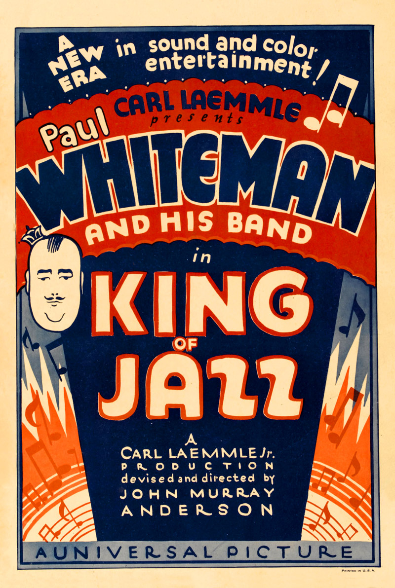 Image result for King of Jazz Movie poster