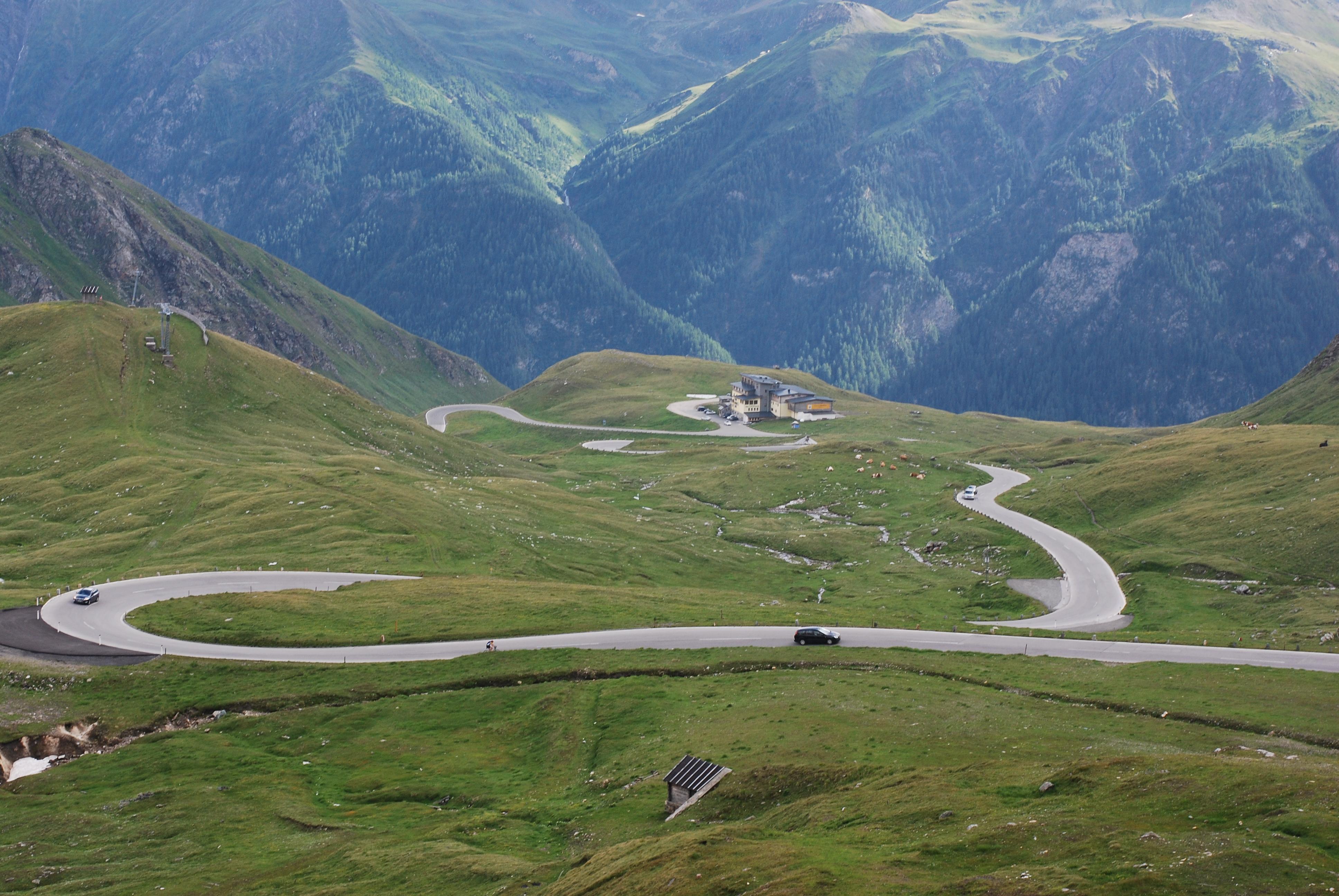 Drive Through Grossglockner Alpine Road As Part Of Roadtrip