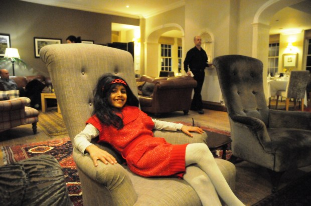 shama in the Lounge Area