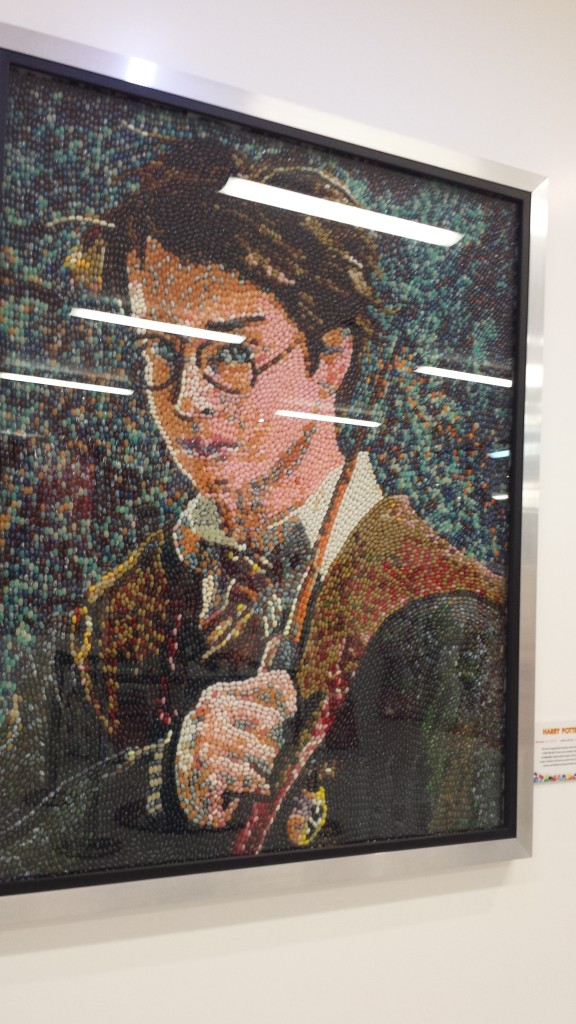 Harry Potter made of Jelly Beans