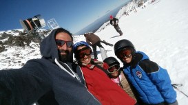 1st family skiing holiday