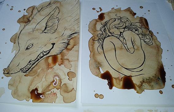 Old Fox & The little Mermaid